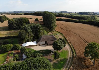 Apple barn Somerset wedding venue